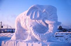 Arte da neve imagem de stock royalty free