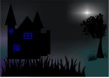 Arte da noite Fotografia de Stock