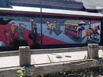 Arte da parede Imagem de Stock Royalty Free