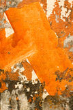 Arte da parede de Grunge Imagem de Stock