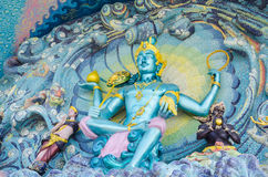 Arte da parede do mosaico de Narayana imagens de stock