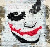 Arte da parede O palhaço Fotos de Stock Royalty Free
