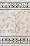 Arte da pedra de Mughal, Taj Mahal, Índia Fotografia de Stock Royalty Free