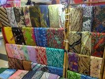 Arte da pintura do Batik Fotografia de Stock