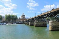 Arte da ponte em Paris, França Fotografia de Stock Royalty Free