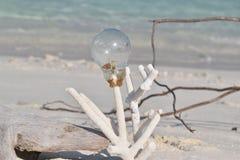 Arte da praia Imagens de Stock