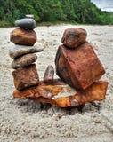 Arte da rocha Imagem de Stock Royalty Free