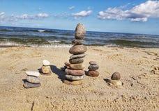 Arte da rocha Imagens de Stock
