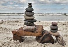 Arte da rocha Foto de Stock