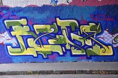 Arte da rua Imagens de Stock