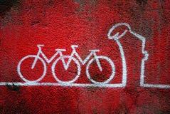 Arte da rua de Linea do La (a linha) Imagem de Stock