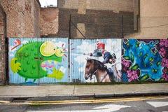 Arte da rua de Londres Fotografia de Stock