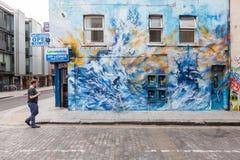 Arte da rua de Londres Imagens de Stock Royalty Free
