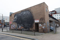 Arte da rua de Londres Foto de Stock