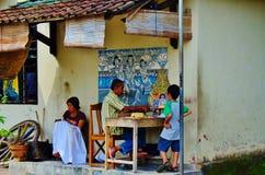 Arte da rua de Malioboro Fotografia de Stock