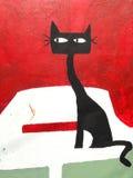 Arte da rua de Valparaiso, o Chile Imagens de Stock