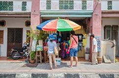 Arte da rua em Georgetown, Penang Fotos de Stock Royalty Free