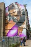 Arte da rua em Glasgow, Reino Unido Imagem de Stock