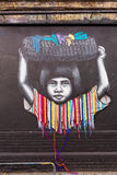 Arte da rua em Londres, Reino Unido Fotos de Stock Royalty Free