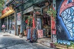 Arte da rua em Montreal imagens de stock royalty free