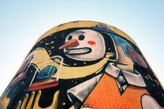 Arte da rua em Roma Fotos de Stock