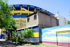 Arte da rua em vizinhanças de Boca do La Fotos de Stock