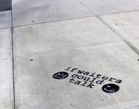 Arte da rua na cultura de NYC Fotografia de Stock Royalty Free