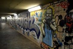 Arte da rua na parede Fotografia de Stock Royalty Free