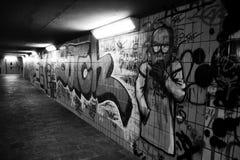 Arte da rua na parede Fotos de Stock