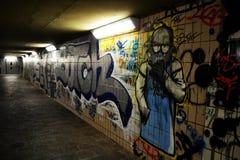 Arte da rua na parede Imagem de Stock
