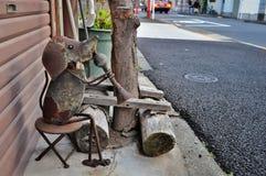 Arte da rua no Tóquio fotografia de stock royalty free