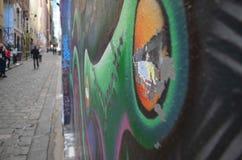 Arte da rua - profundidade de campo rasa Imagem de Stock