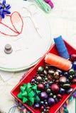 Arte da tecelagem e do ornamento Imagem de Stock