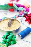 Arte da tecelagem e do ornamento Foto de Stock Royalty Free