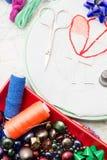 Arte da tecelagem e do ornamento Imagem de Stock Royalty Free