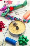 Arte da tecelagem e do ornamento Imagens de Stock Royalty Free