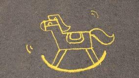 Arte dalla sabbia Fotografia Stock