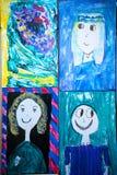 A arte das crianças Foto de Stock