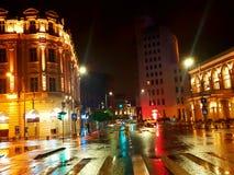 Arte das luzes de rua Fotografia de Stock Royalty Free