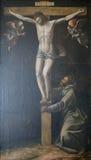 Arte de Assisi, Umbría, Italia Imágenes de archivo libres de regalías