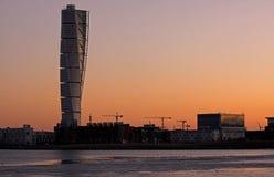 Arte de Calatrava en luz de la madrugada fotos de archivo