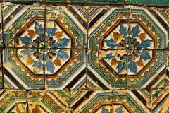 Arte de cerámica con influencia árabe Foto de archivo