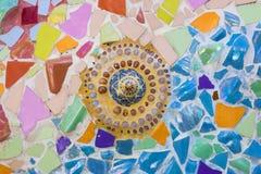 Arte de cerâmico colorido Fotografia de Stock