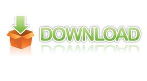 Arte de clip del fichero de la transferencia directa Imagen de archivo