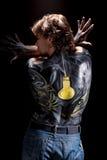 Arte de corpo fina Imagem de Stock Royalty Free