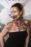 Arte de cuerpo Fotografía de archivo libre de regalías