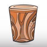 Arte de Cylindical Imágenes de archivo libres de regalías
