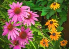 Arte de Gardening de la cerca Imágenes de archivo libres de regalías