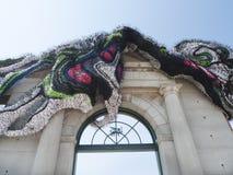 Arte de instalação de Crystal Wagner do artista de New York, Fort Smith, AR Foto de Stock