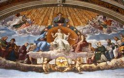 Arte de Italy em Vatican imagens de stock royalty free